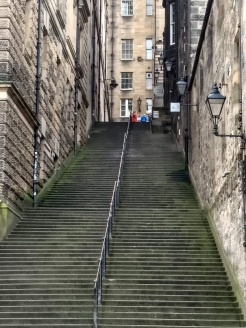 Edinburgh stairs