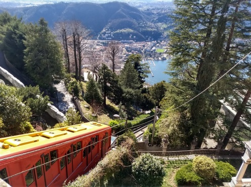 Funicular from above