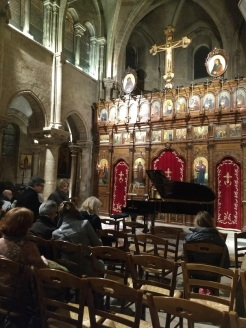 Piano concert at oldest church in Paris Saint Julien le Pauvre