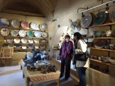 Pottery School Madame Evelyn and Mona 2