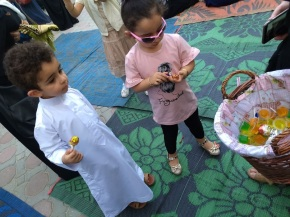 Eid al-Fitr in Sharjah candy