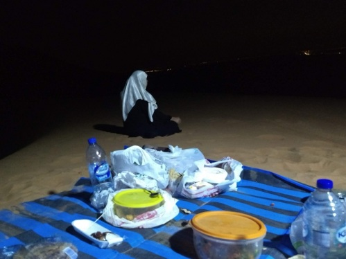 Iftar in the Sand Dunes