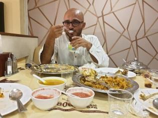Iftar with Ahmad