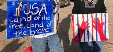 Northern NM protest 2