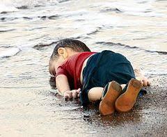 Dead Syrian boy