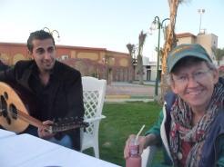 Musician in Gaza